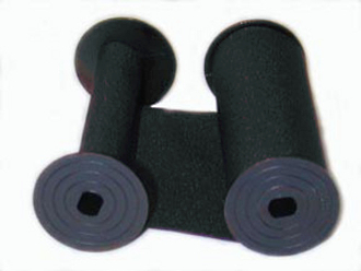 Rapidprint 5650 Black Cotton Ribbon