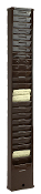 Time Card Rack 155 (25-Pocket, Steel)