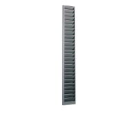 170 Swipe Card/Badge Rack (40-Pocket, Steel)