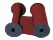 Rapidprint 5650 Red Cotton Ribbon