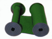 Widmer 1000 Green Cotton Ribbon