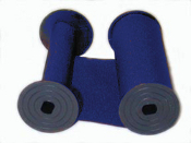 Rapidprint 5650 Blue Cotton Ribbon