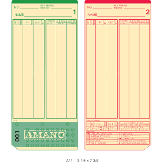A11P100-199 Time Cards